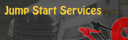 Jump start service in Garland